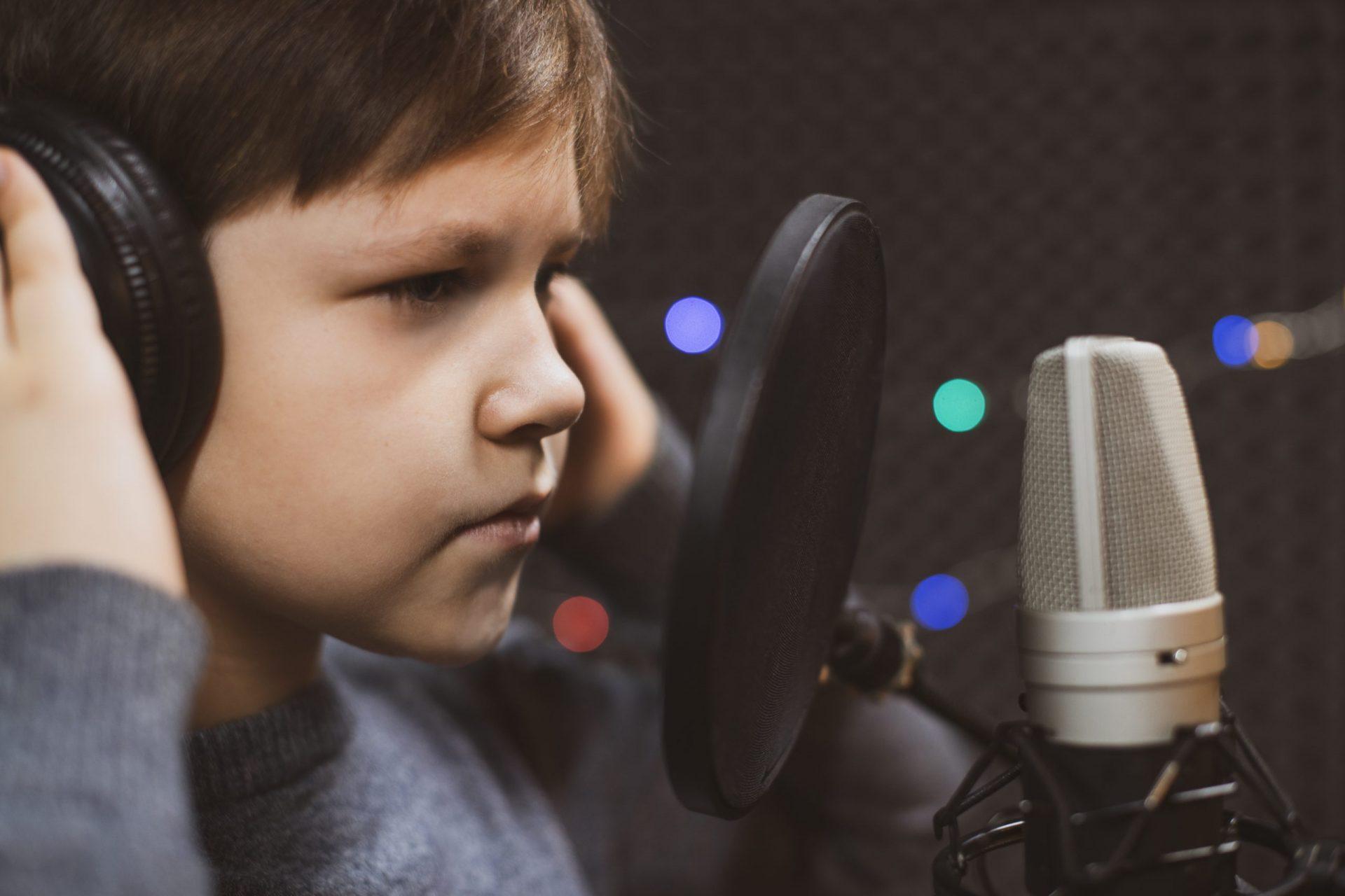 Boy dubbing