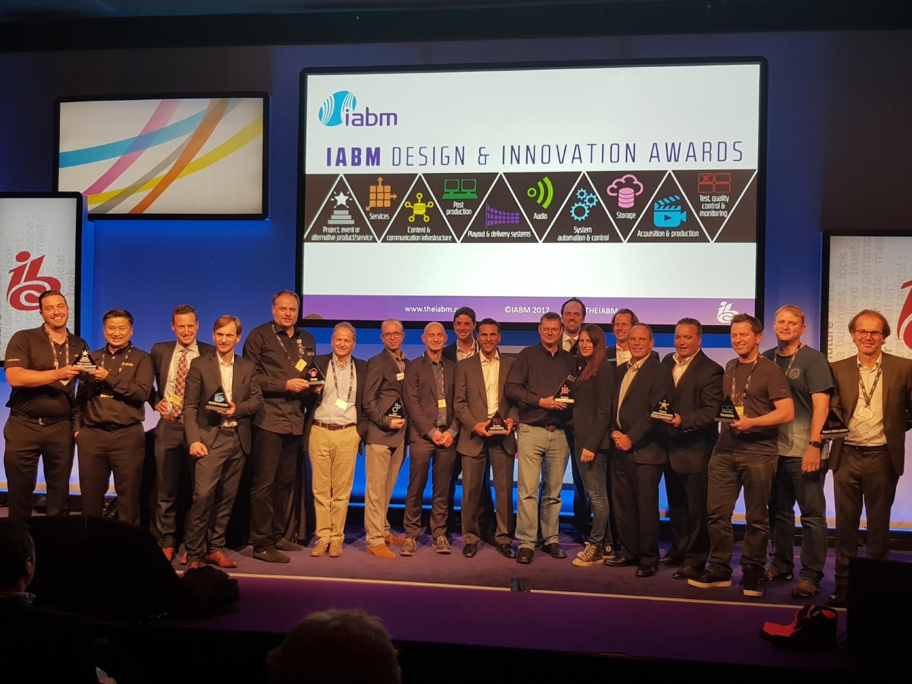 IABM Awards – IBC 2017