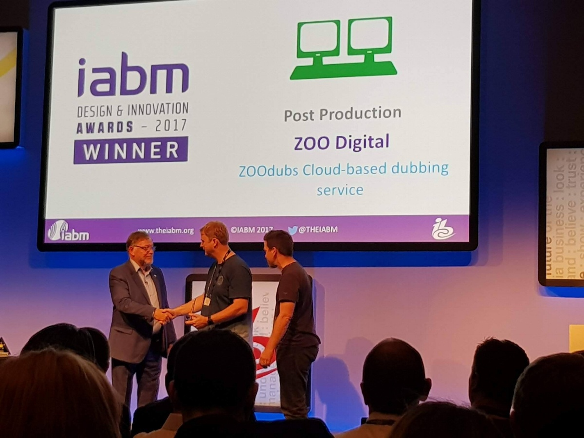 IABM Awards – Wesley and Steven